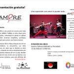 Mañana presentación gratuita de la puesta en escena AMORE ¡Ven y diviértete con nosotros! #CulturaInfantil #Morelos https://t.co/VsXIBBowJy