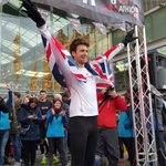 What an absolute legend. Well done @gregjames You are amazing #Gregathlon @sportrelief @BBCR1 https://t.co/7pTCJCTHRJ