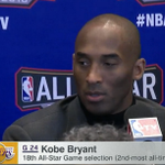 """""""Im looking around the room at guys who are tearing up the league who were 4 when I started."""" - Kobe Bryant https://t.co/2XfahfRVTJ"""