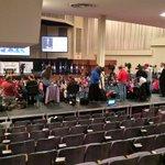 Nearly two dozens cameras set up to cover Faith & Family forum @BJUedu @marcorubio @tedcruz @JebBush @RealBenCarson https://t.co/QV4U4D6FY3