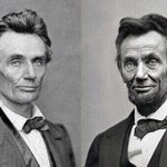 Lincolns 1st & last presidential photos. No #POTUS aged more in office—or had more reason to. #LincolnBirthday https://t.co/Kv1PceNEWd