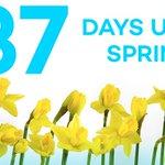 37 DAYS UNTIL SPRING! 🌻 🌷 https://t.co/q76HK0LbhO