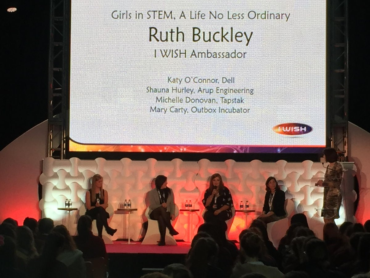 test Twitter Media - RT @TricSmy: @IWish_ie another great panel #inspiringgirls #STEM #iwish2016 https://t.co/Pce5xW6uCk