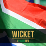 DOUBLE WICKET! Tahir races away to boundary after getting Morgan and Stokes in one over. 97/4 #PinkDay #ProteaFire https://t.co/aSAdGBHVSf