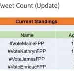 Nakaya natin ng 41million tweets gawin ulit natin tambakan na!   RETWEET AND SPREAD !!!   #VoteMaineFPP #KCA https://t.co/Dr607LUYSb