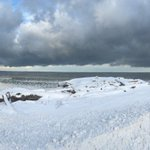 Panoramic of #LakeEffect snow @WGRZ #Buffalo #WNY https://t.co/w0mLDCQBkO
