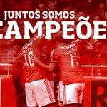 #Juntos Somos Campeões #carregabenfica https://t.co/f4lUvZ0dL1