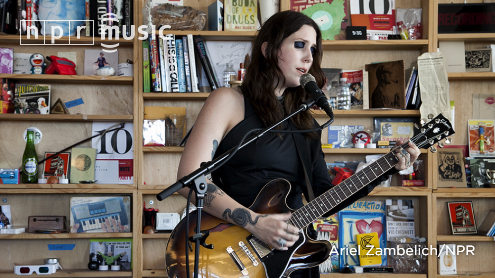 It was surreal and emotional to have @CCHELSEAWWOLFE play a #tinydesk in broad daylight. https://t.co/Vgu8Df1Wc8 https://t.co/H5PpFo1iDS