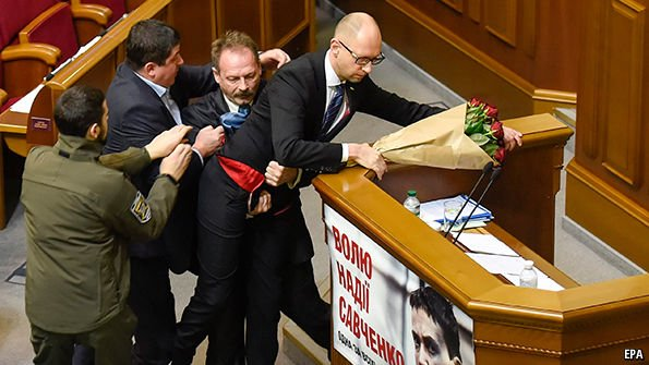 """Democracy"" in #Ukraine: Clowns in Parliament; Americans in the finance ministry; Nazis on the ground. https://t.co/73ITcUzSSv"