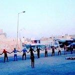 #تيار_الوفاء | رغم الحصار، سلسلة بشريّة على امتداد الشارع العام ببلدة #دمستان ضمن جولات اليوم الأوّل من #عصيان_النمر https://t.co/onEBem8Uns