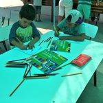 Niños y niñas de Escuela de Verano El Peralito #MontePatria disfrutan de actividades organizadas por @OpdMontepatria https://t.co/dD1bBDpCy9