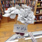 We have a limited amount of #book paper roses for your special #bibliophile this Valentines Day. $7.00 ea. #ldnont https://t.co/rKneCmCIVI