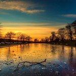 A beautiful winter #sunset over Duthie Park, #Aberdeen 📷: FB/ Neil Donald #ScotSpirit https://t.co/sLBvXEZd4O