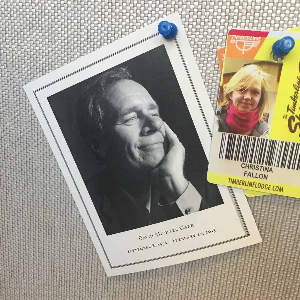 David Carr died a year ago today. Go read his work and get yourself smiling. Wish he was here. https://t.co/miZYcMftm1