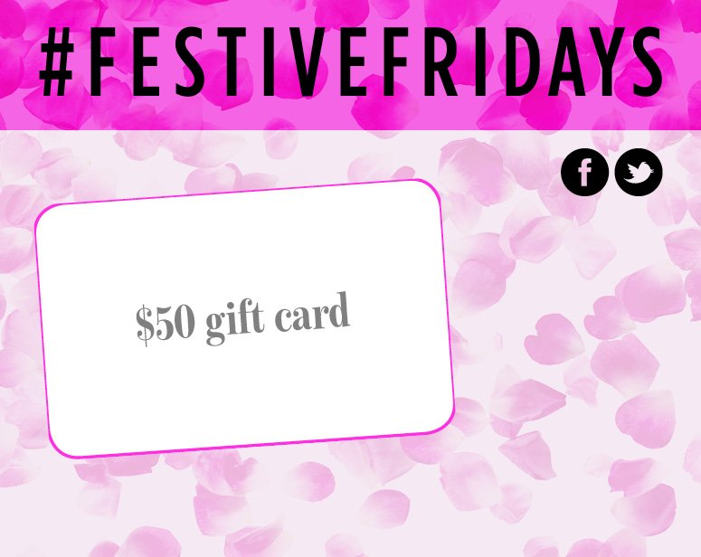Happy #FestiveFriday! Follow us & RT this for your chance to #win $50 to @lushcosmetics: https://t.co/kSRS4B5Tde https://t.co/AHNJXMRYRG