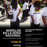 Este domingo #Morelos en la hora nacional presenta: https://t.co/y0EAHiFrPy