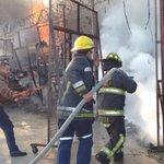 Gracias al equipo de Bomberos del @CuernavacaGob por atender incendio en la Barona https://t.co/0LIZ8ZBTWg