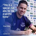 The best decision of my life was coming to Everton ???? https://t.co/mbhfxd0rwI
