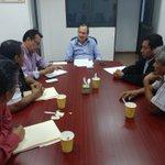 En reunión con representantes de la Ruta 6 de #Tetelcingo hablamos sobre combate al pirataje #Morelos https://t.co/zh72kv88Lk