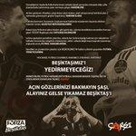 """Beşiktaş Çarşı grubu """"hodri meydan"""" demiş.. https://t.co/whstfnRXYk"""
