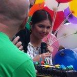 Like an adorable little kid hawak un balloons! Cutieeee! Love you, Meng ❤ #VoteMaineFPP #KCA (© Ms. JH EM) https://t.co/JeusmvxdAR