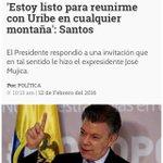 Respete presidente @JuanManSantos a las montañas debería ir usted a perseguir a los terroristas! https://t.co/KBvo9WC3Fs