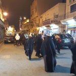 إنطلاق الجولة الثالثة بأرض الصُمود #السنابس بعنوان #أن_الآن_العصيان في اليوم الأول من #عصيان_النمر #Bahrain #Sanabis https://t.co/bQaxVfNNt1
