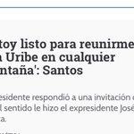 Respete presidente @JuanManSantos no trate a los demócratas como terroristas y a los terroristas como estadistas! https://t.co/6JTULzohdw