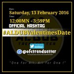 """""""Anywhere with you is a great place for me."""" #ALDUBValentinesDate https://t.co/EosdKnTG4p"""