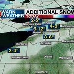 Snow is covering WNY. Tune in to News 4 now for a LIVE update at 11:30 a.m. The latest: https://t.co/SoCJiYa71Y https://t.co/11bXviLpyp