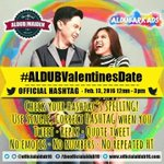 Whos excited for #ALDUBValentinesDate ? @aldenrichards02 @mainedcm @EatBulaga https://t.co/bhEinGS2VQ