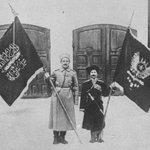 راية #داعش كان علم الدولة العثمانية قبل 100 عام . https://t.co/2zC2e1Jc7c