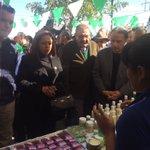 """Conociendo los productos en la  edición número 12 de """"Expo Nopal"""" en Valtierrilla, Salamanca https://t.co/iYEzu3hnUs"""