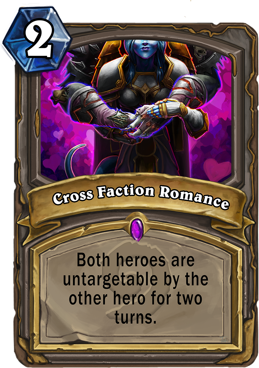 OC @PlayHearthstone @Blizzard_Ent #Valentines Day Card! A joke card about how the SO and I met #hearthstone #fanart https://t.co/653Y7AGgBD