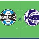 AO VIVO: @Gremio recebe o São José pela quarta rodada do Gauchão. Acompanhe com @zh_esportes https://t.co/RpLNJkHvAl https://t.co/90GOBtBE0S
