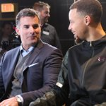 Our CEO Kevin Plank and the MVP plotting on the next move at the @NBA Tech Summit. #PlayForMore #NBAAllStarTO https://t.co/MQPDWkRxt1