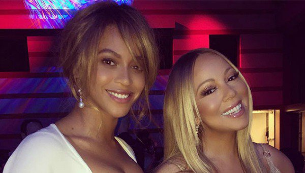 Flawless! Beyoncé and Mariah Carey hang out together for a good cause: