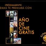 ¡Da RT y Like si querés participar y ser el afortunado ganador de 1 AÑO GRATIS en Cinemas!  #NosApasiona https://t.co/oIrzPjVHr5
