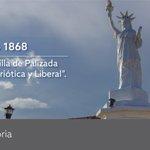 """#NuestraHistoria Un día como hoy, en 1868, la villa de Palizada recibe el título de """"Patriótica y Liberal"""". https://t.co/p0foYyu4Q6"""