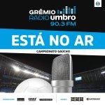 ESTÁ NO AR a transmissão #DeGremistaParaGremista da partida contra o São José-POA! #Gauchão2016! https://t.co/RSORsF8oFw