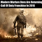 Infinity Ward are back... https://t.co/nH6Zd4o3iw