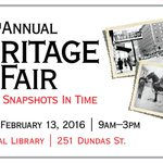 Tune into @DaytimeLondon tonight at 5pm or 11pm to learn more about the Heritage Fair with @HeritageCouncil and LPL! https://t.co/ZBspcL8HdX