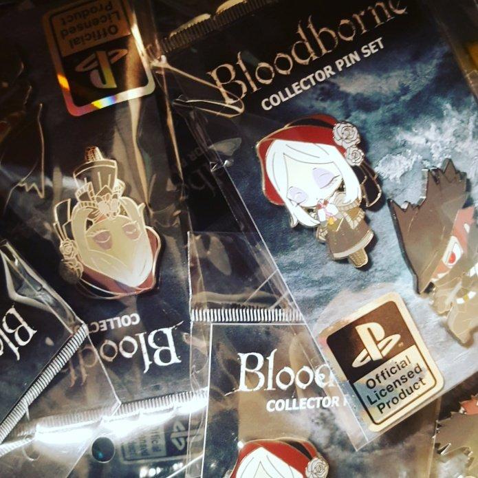 #new #bloodborne #collector #pins now available- https://t.co/Ev0dlvlNtZ #ps4 #esctoys #exclusive @senden_ogu https://t.co/4yhAzb1WXJ