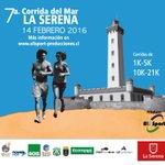 Otro panorama para el día de los enamorados. 7º Corrida del Mar La Serena 2016. PARTIDA a las 09hrs. Faro Monumental https://t.co/1HDjN4RZPg