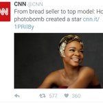From the Streets to overnight celeb: CNN features the story of breadseller turned model, Olajumoke https://t.co/XB4225PMEe