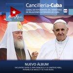 Un significativo momento para la humanidad pues líderes religiosos se encuentran #Kirill #PapaFrancisco #CubaEsPaz https://t.co/7wkzWa3lX1