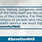 People who work for the NHS are the heroes in the UK. We need to fight for them and those who need it. #SaveOurNHS https://t.co/nZTxsBmHng