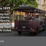 #NuestraHistoria Un día como hoy, en 1899, se inaugura el tranvía urbano de Campeche. https://t.co/TTJSNFA4jX