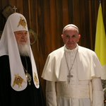 Patriarca Kirill y Papa Francisco efectúan histórico encuentro en La Habana. #Cuba #CubaEsPaz https://t.co/UvPJtGZAhA