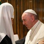 Rencontre à #Cuba entre le #Pape François et le patriarche de l'Église orthodoxe russe Kirill  #CubaEsPaz https://t.co/meuJKkjhuK